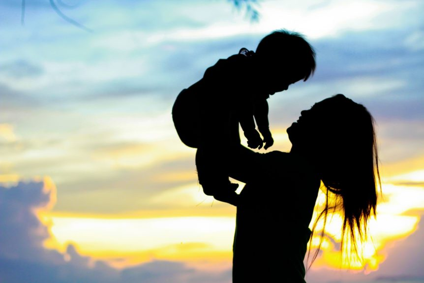 divorce mother and child